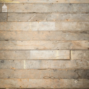 "Batch of 35 Square Metres of Reclaimed 4¾"" Inch Wide Pine Floorboards Floor Boards"
