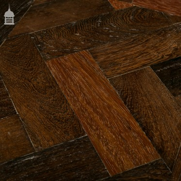 Reclaimed Wenge Parquet Block Flooring