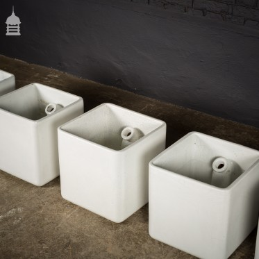 Reclaimed Ceramic Lab Sluices Planters