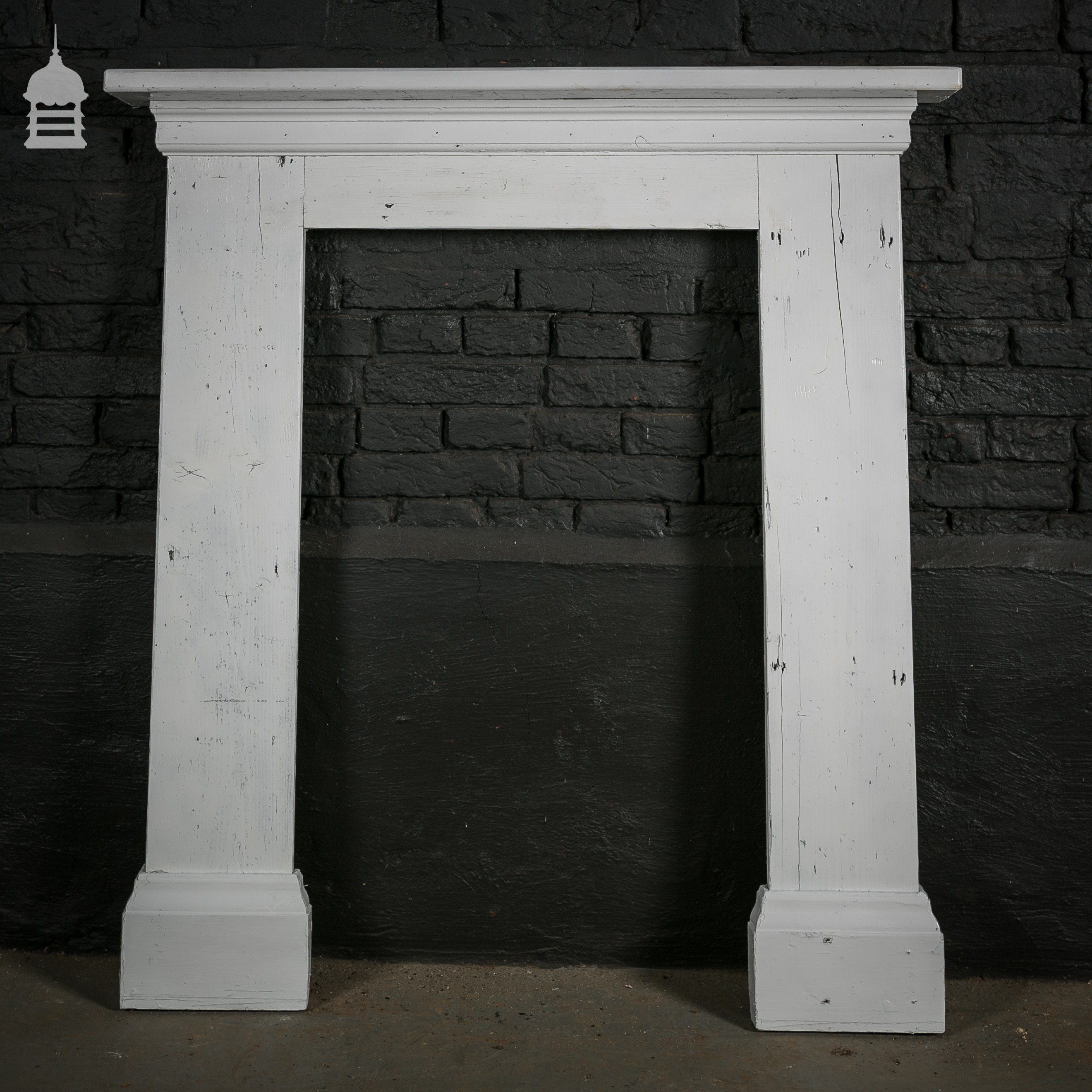 White Fire Surround Part - 43: Norfolk Antique And Reclamation