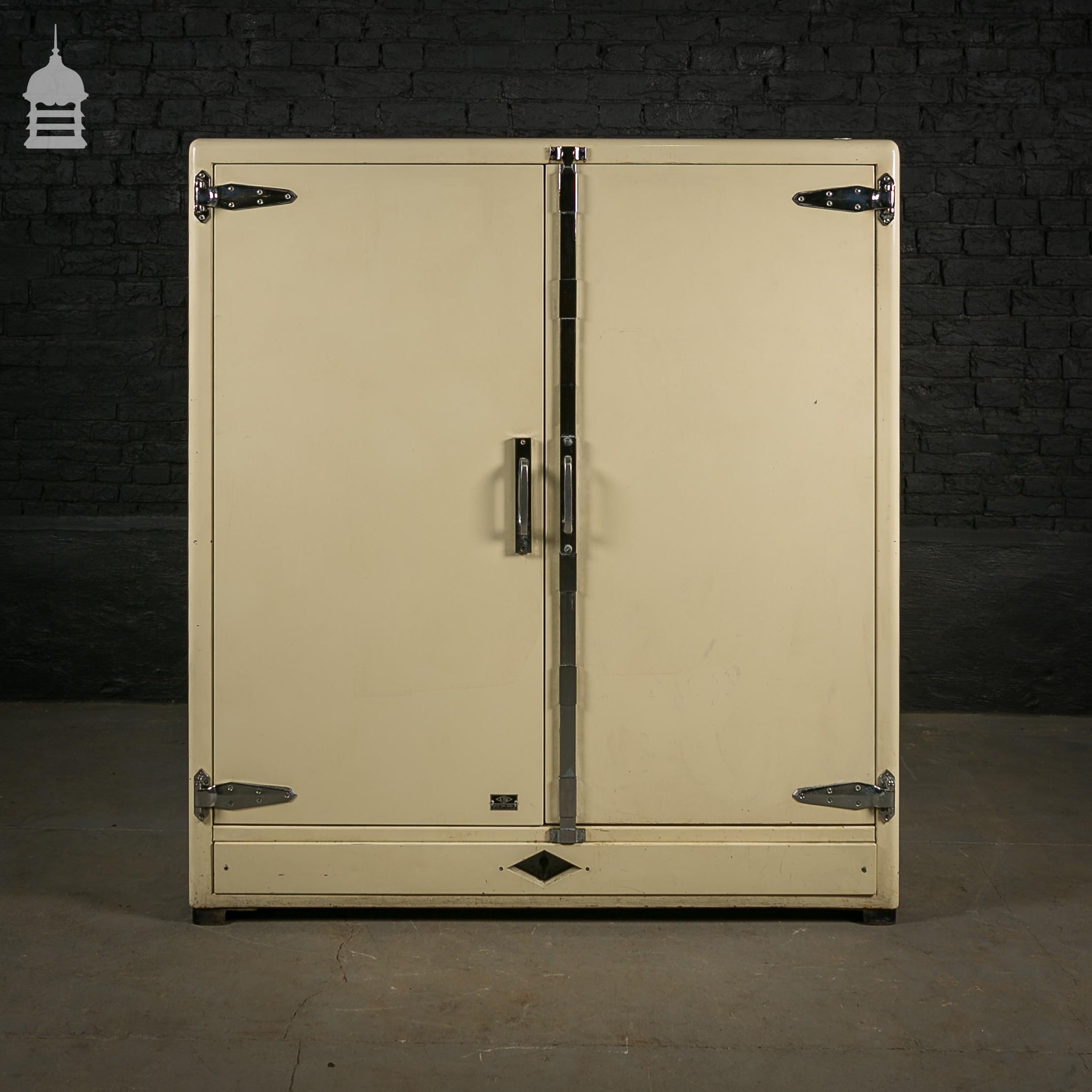 Rare Cream Deco Style Laboratory Cabinet - Exclusives