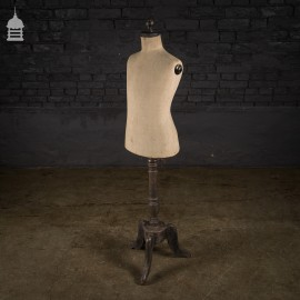 Vintage 'STOCKMAN' of Paris Mannequin on Wooden Stand