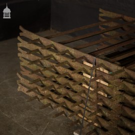 Large Set of Heavy Duty Victorian Iron Railings – 70 Feet Available