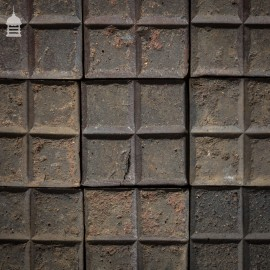 Batch of 680 Reclaimed Square Staffordshire Blue Stable Bricks