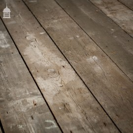 11 Square Metres of Rough Finish Victorian T & G Floor Boards Wall Cladding
