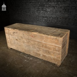 Victorian Pine Grain Bin Storage Box