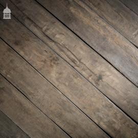 Reclaimed Norfolk Broads Black Bog Oak Floor Boards Wall Cladding