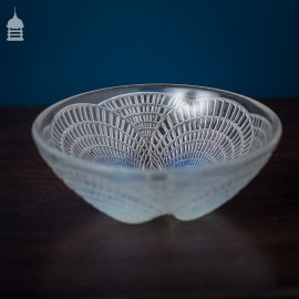 Rene Lalique Coquilles Opalescent Bowl