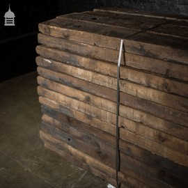 Pack of 50 Lengths of Reclaimed Treated Pine Half Sleepers