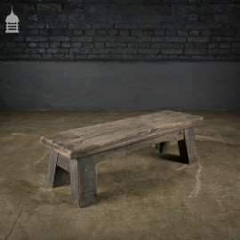 Reclaimed Oak Stool Step Up Coffee Table