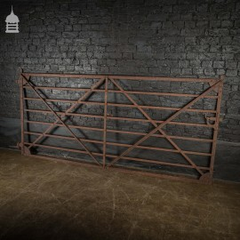 18th Century 9ft Strap Iron Farm Gate