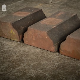 Batch of 8 Balustrade Plinth Coping Bricks