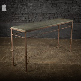 Slate Topped Garden Potting Table with Steel Base