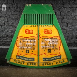 Vintage Green and Yellow Fun Fair Ball Game
