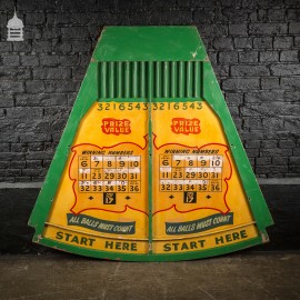 Vintage Yellow and Green Fun Fair Ball Game