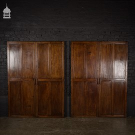 Pair of Edwardian Oak Double Doors – 2 Pairs Available