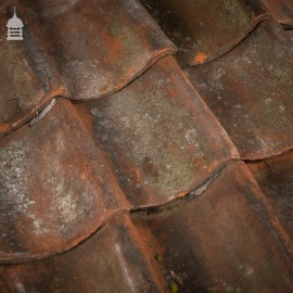 Reclaimed Red Hand Made Norfolk Pan Tiles Pantiles