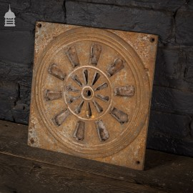 19th Century Square Cast Iron Decorative Air Vent
