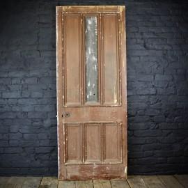 Multiple Paneled Pine door 19th C