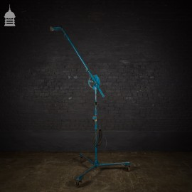 Industrial Adjustable Workshop Light Stand on Castors