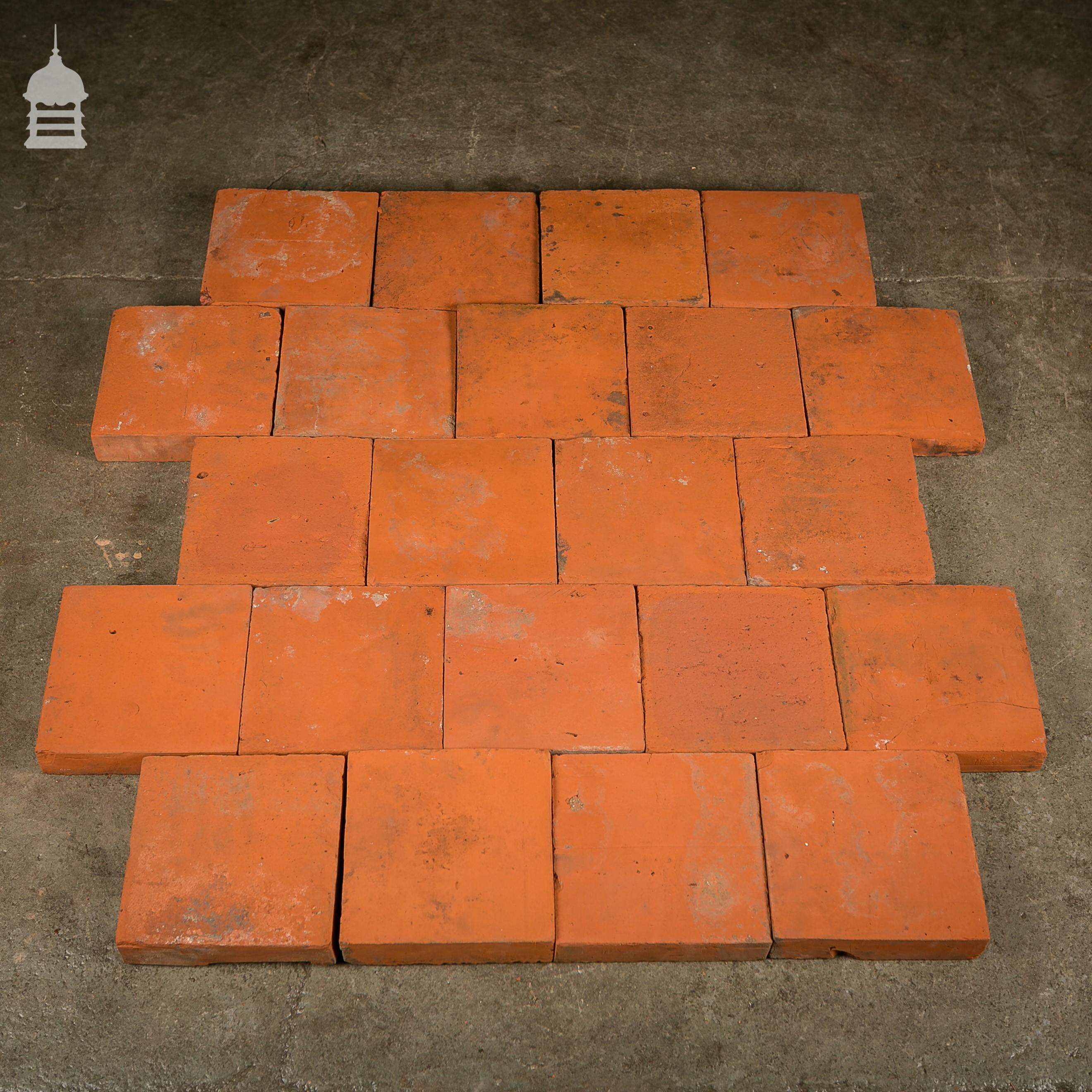 Reclaimed minton floor tiles