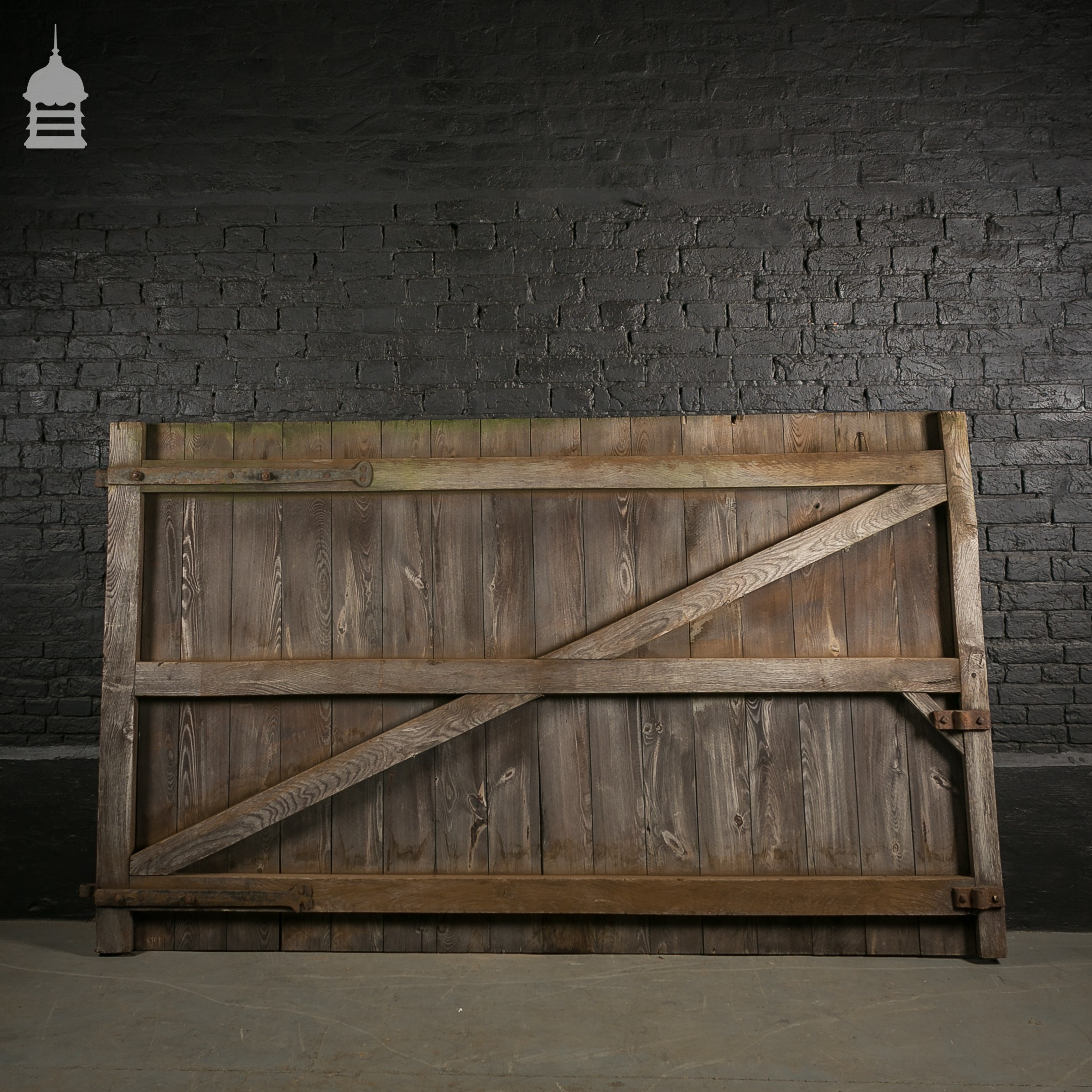 Large pine ledged and braced barn door for Oversized barn doors