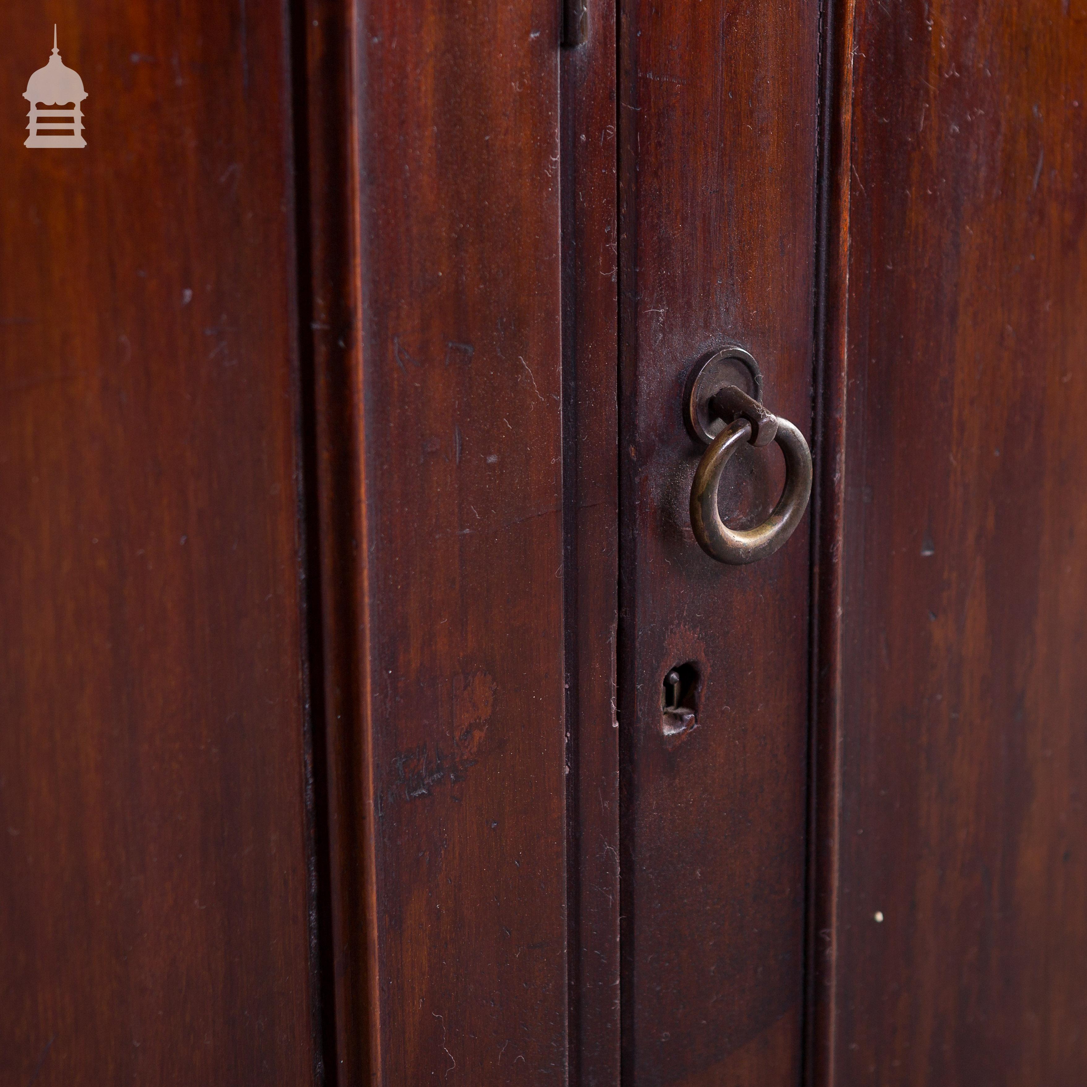 19th C Mahogany Haberdashery with 3 Doors 5