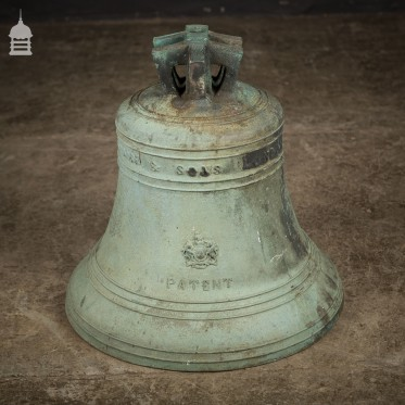 John Warner and Sons Bronze Bell Dated 1865