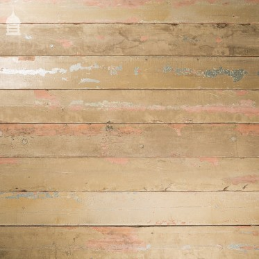 Reclaimed 7½ Inch Wide Columbian Pine Boards Wall Cladding with Painted Finish 190mm Wide