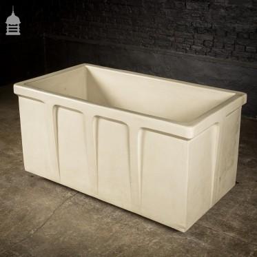 19th C Doulton & Co Fire Clay Chemical Bath
