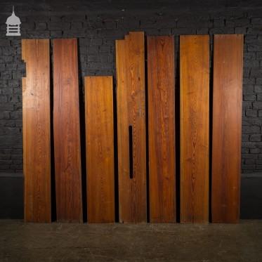 Batch of 3 Sqm of Super Wide Pitch Pine Boards