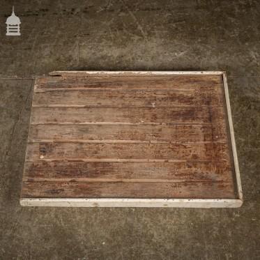 Vintage Mahogany Draining Board in Original Condition