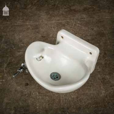 Reclaimed Wall Mounted Ceramic Drinking Fountain