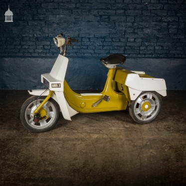 Green 1970's BSA Aerial 3 50cc Motorised Tricycle Moped