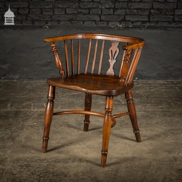 Adapted Low Back Windsor Chair Circa 1830