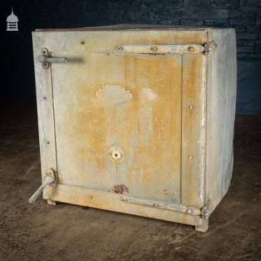 'Perkins Clean Milk' Metal Cabinet
