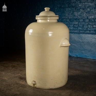 Large Victorian Royal Doulton Ceramic Chemical Jar