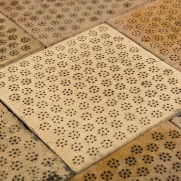 Reclaimed 12 x 12 Inch Clay Malting Tiles Floor Tiles