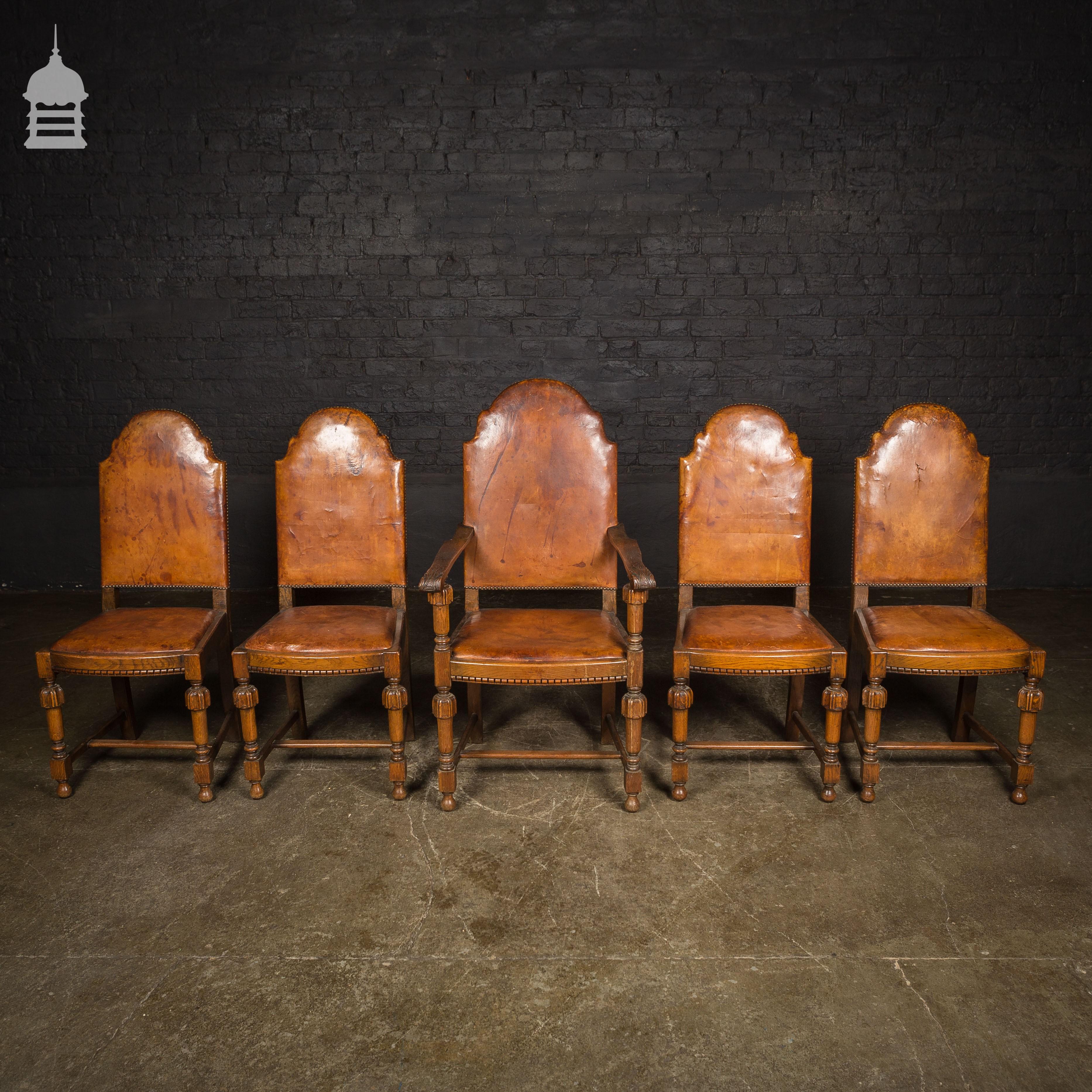 Terrific 1930S Art Deco Carved Oak Set Of 4 Dining Chairs And One Frankydiablos Diy Chair Ideas Frankydiabloscom