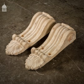 Pair of Victorian Terracotta Corbels