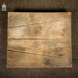 Small Reclaimed Elm Drainer Draining Board
