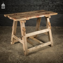 Bygone Wooden Base With Reclaimed Wooden Table Top