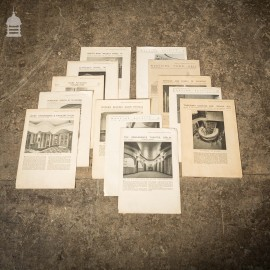 Collection of 13 Original Supplements from The Architects' Journal dated 1931 – 1935