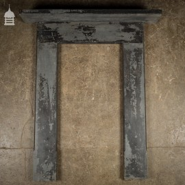 Edwardian Slate Bedroom Fireplace Surround