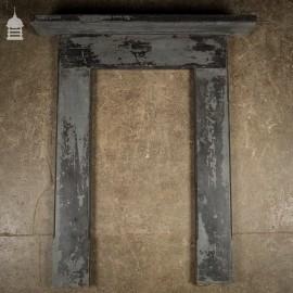 Edwardian Slate Bedroom Fireplace Surround