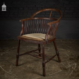Elegant Edwardian Chair for Re-upholstery
