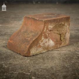 Batch of 52 Reclaimed Red Moulded Header Bricks