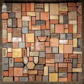 The Walled Garden Mix of Reclaimed Flooring Floor Tiles