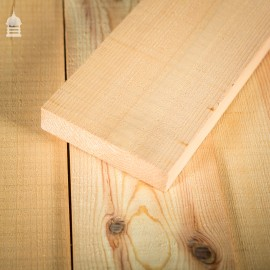 """Batch of 11 Square Metres of 5"""" x 1.25"""" Pine Floorboard Cut From Reclaimed Victorian Joists"""