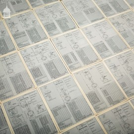 140 Pages of Vintage Industrial Drawings Plans Schematics